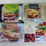 Vol.2 イギリス大手スーパーのラザニアを食べ比べてみた