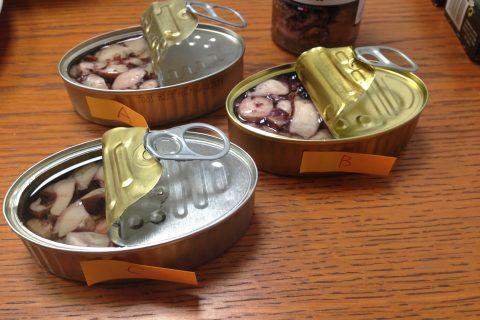 Vol.11 おつまみに最適!タコの缶詰食べ比べ!