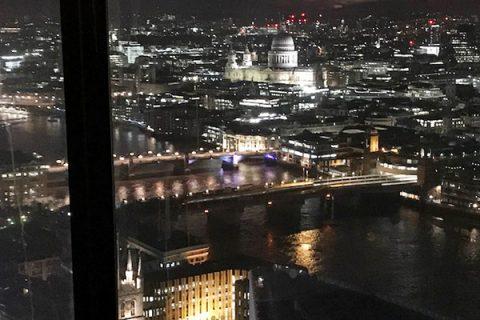 摩天楼から見るロンドンの夜景が楽しめる中華料理店HUTONG