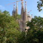 ロンドンを離れて[13]バルセロナ(スペイン)サグラダ・ファミリア教会