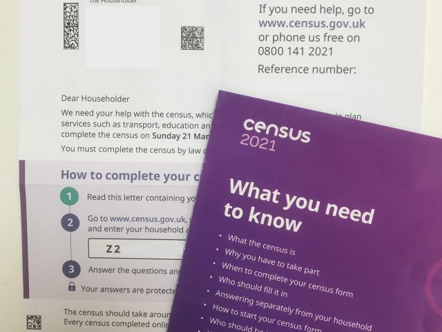 Vol.2 2021年3月21日日曜日まで。国勢調査に回答しないと罰金最高1000ポンド!