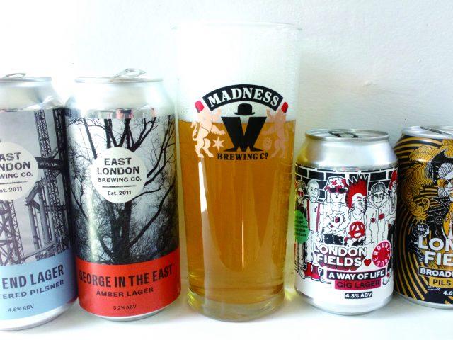 Vol.24 ロンドンのビール飲み比べ:ラガー・ビール編④ 東ロンドンEAST LONDON BREWING / LONDON FIELDS BREWERY